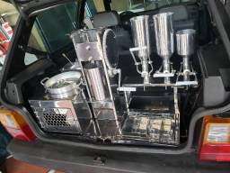 Kit churros para carros hatch e tambem temos towner fiorino e outros