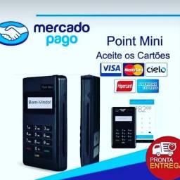 Maquina de cartões de crédito e débito - DINHEIRO CAI NA HORA