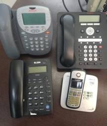 Lote de Telefonia 2 - Avaya (ler a descrição completa do anúncio)