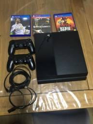 Vendo ou troco PS4 500gb