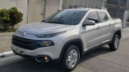 Fiat TORO Freedom AT6 1.8 ano 2018 16V, cor prata, otimo estado