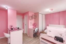 Apartamento Studio Seventh Avenue 28m² impecável no centro de Curitiba