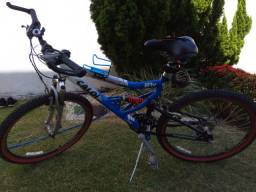 Bicicleta Caloi com amotercedor