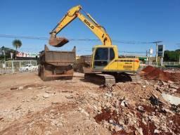 limpeza de terreno e demolição