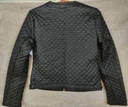 Jaqueta couro sintético (Nova)
