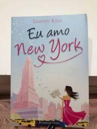 Livro Eu Amo New York - Lindsey Kelk