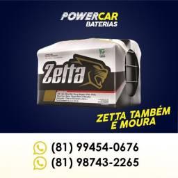 Bateria Zetta 60AH - Entrega e Instalação Grátis