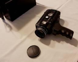 Câmera super 8 zoom eletrico