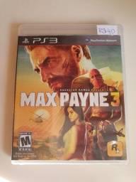 Jogo PS3 PlayStation3 - Max Payne 3 - Mídia Física