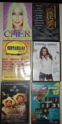 Dez DVD's Originais