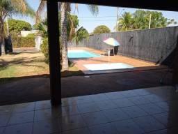 Alugo rancho para temporada com piscina e ar condicionado