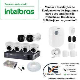 Vendas e Instalações de Câmeras e Equipamentos de Segurança