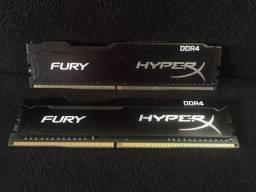 Memória RAM 8gb DDR4 - 2.400mhz (2x4gb)