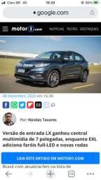 HONDA/HRV LX, EX E EXL FLEONE/2021 OKM A FATURAR VD/FINANCIO