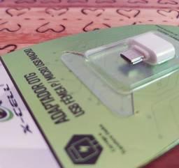 Adaptador Otg Usb fêmea para Micro USB macho 12reais12