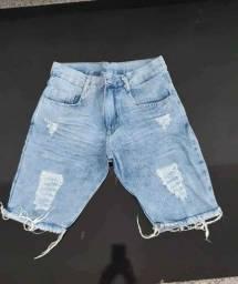 Bermuda short jeans masculino