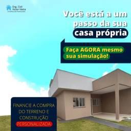 Título do anúncio: Financie a compra do terreno + a construção