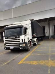 Conjunto Scania p114 2000 + baú