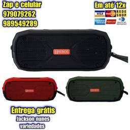 Caixa De Som Bluetooth Portátil HRebos Hs-626