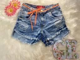 Short jeans (Nov), TAM 38, apenas 38 reais