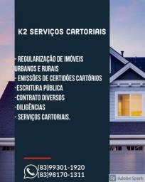 Serviços Cartoriais.