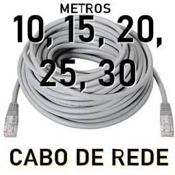 Cabo de rede pronto pra so, 10, 15, 20 e 30 metros leia os valores