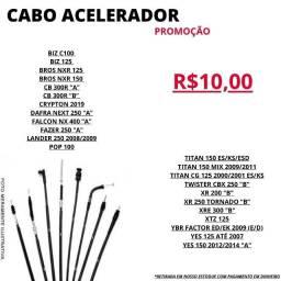 Cabo Acelerador Promocao RBA Moto