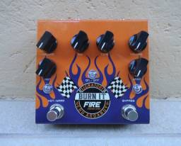 Pedal Fire Burn It para Guitarra