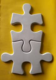Forma de Abs 1mm Para gesso 3d Modelo Quebra Cabeça