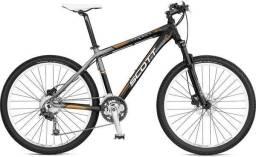 scott aspect 35 mountain bike grupo  Shimano Deore hidráulico semi nova com nota