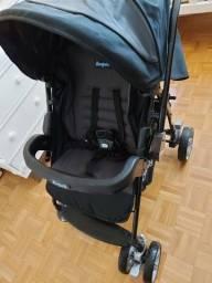 Carrinho + Bebê Conforto + Bolsa organizadora   Burigotto Travel System AT6K