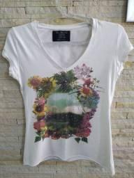 Blusa Zara coton tamanho M