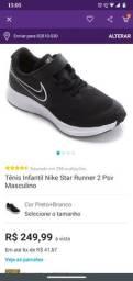 Tênis Nike Infantil Original 32