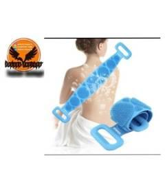 Escova de silicone para as costas