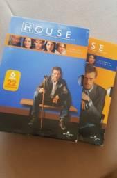 Box's completos da 1ª e 2ª temp. da série house