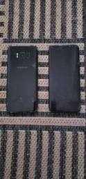 Dois aparelhos Samsung S8 para retirada de peças!