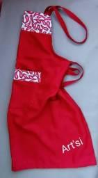 Avental de Cozinha Vermelho