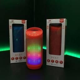 Caixa de Som Bluetooth Beat C3Tech Azul 8W RMS SP-B50BL
