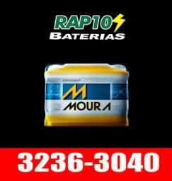 Bateria Para Palio e Uno Bateria Moura, Heliar, Bosch, Zetta 60 Amperes