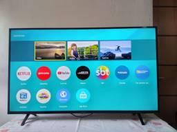 Linda tv smart 50 Panasonic vários Apps.