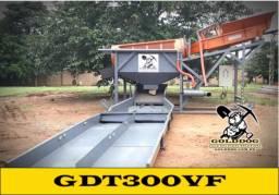 Equipamento para Mineração - Tromel Planta de Lavagem GDT300VF GoldDog