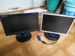 Monitores c/ defeito USADO