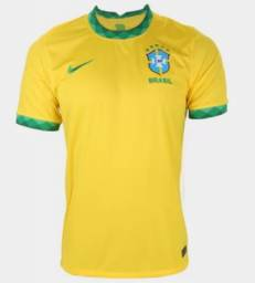 Camisa da seleção  brasileira  Amarela