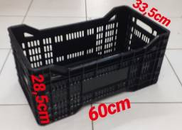 Caixa plástica agrícola hotrifruti 60x33,5x28,5