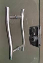 Porta de vidro /Inox