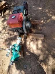 Vende-se Motor Estacionário Yanmar com Bomba D'água de alta pressão.