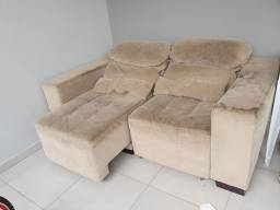 Sofá retrátil e reclinavel