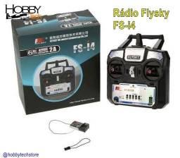 Rádio Controle Flysky Fs-i4 com Receptor - Novo