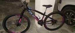 Bicicleta seminova 6 meses de uso