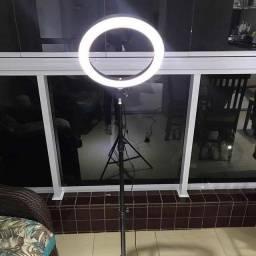 Ring Light Led 10 Polegadas 26cm Com Trípe De 2,10 Metros